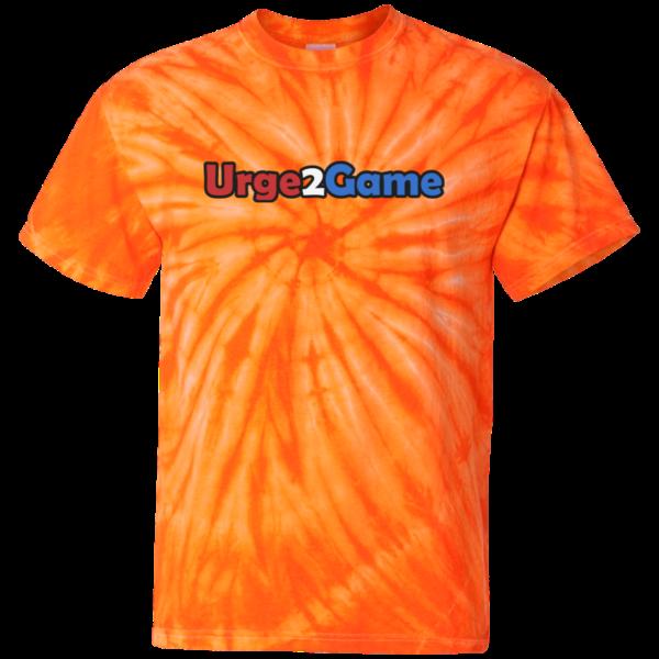 Urge2Game Tie Dye Tee Orange