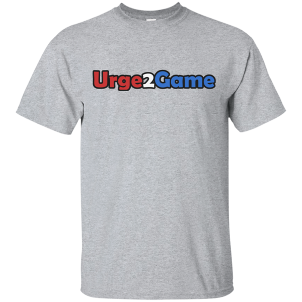 Urge2Game Tee Grey