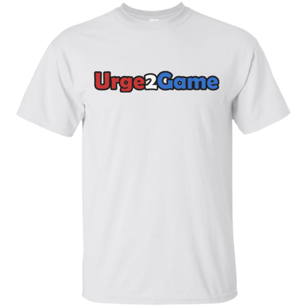Urge2Game Tee White