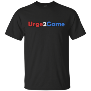Urge2Game Tee Black