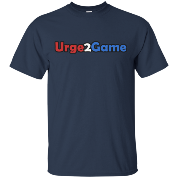 Urge2Game Tee Navy