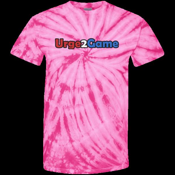 Urge2Game Tie Dye Tee Pink