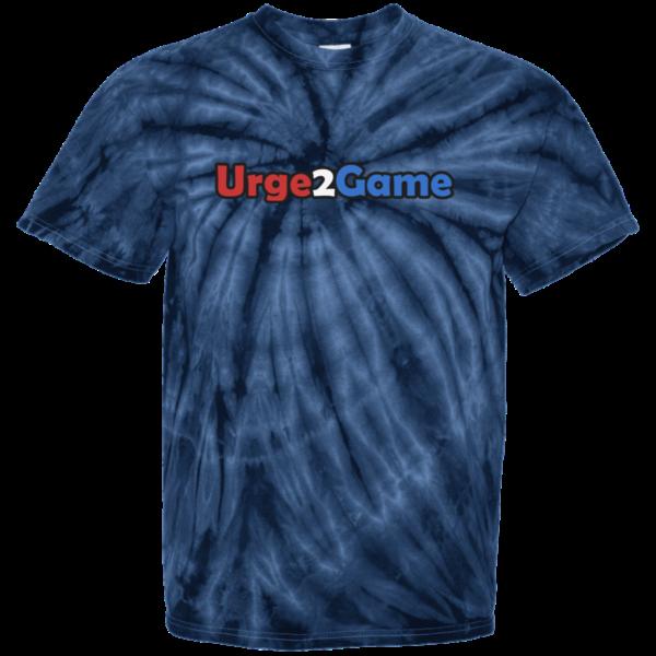Urge2Game Tie Dye Tee Blue