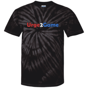 Urge2Game Tie Dye Tee Black