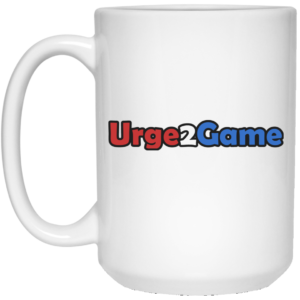 Urge2Game 15 oz. White Mug