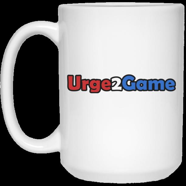 Urge2Game 15 oz. White Mug