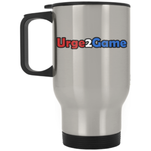 Urge2Game Silver Stainless Travel Mug