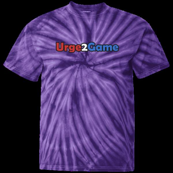 Urge2Game Tie Dye Tee Purple