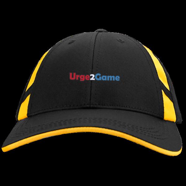 Urge2Game Mesh Inset Cap Black and yellow