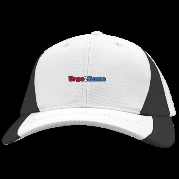 Urge2Game Colorblock Cap White and black
