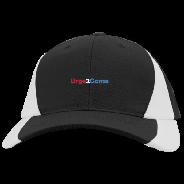 Urge2Game Colorblock Cap Black and white