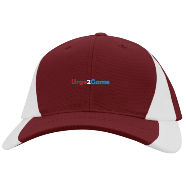 Urge2Game Colorblock Cap Red and white