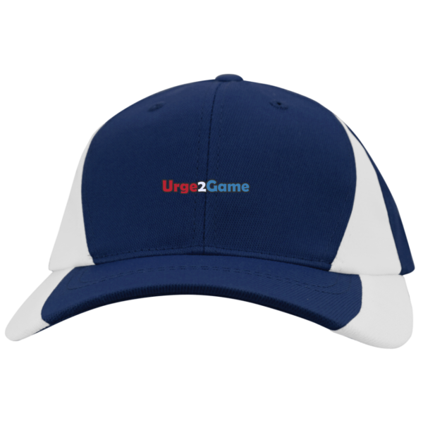 Urge2Game Colorblock Cap Navy and White