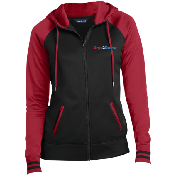 Urge2Game Women's Hooded Jacket Red