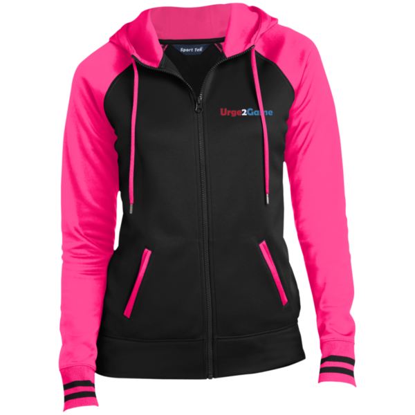 Urge2Game Women's Hooded Jacket Pink