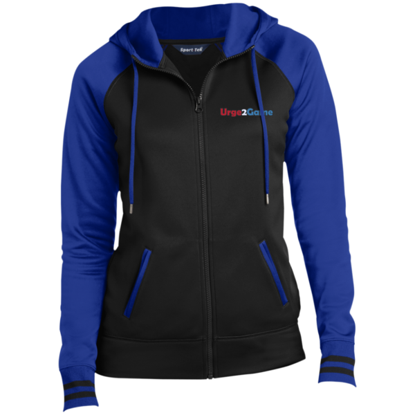 Urge2Game Women's Hooded Jacket Blue