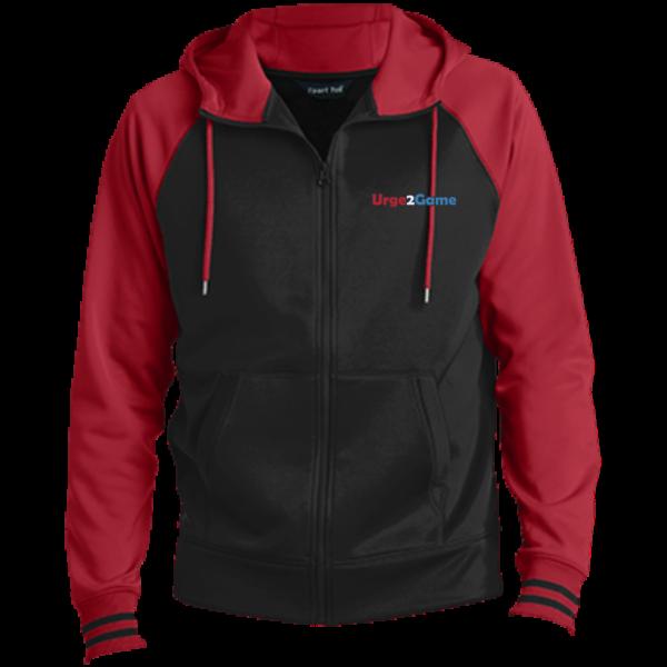 Urge2Game Men's Hooded Jacket Red