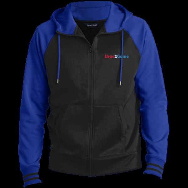 Urge2Game Men's Hooded Jacket Blue