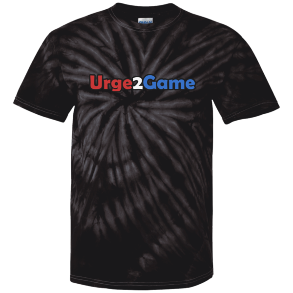 Urge2Game Tie Dye Tee Black