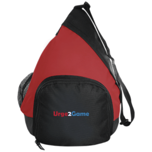 Urge2Game Active Sling Pack Red