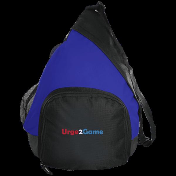 Urge2Game Active Sling Pack Blue